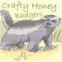 Grab button for Crafty Honey Badgers