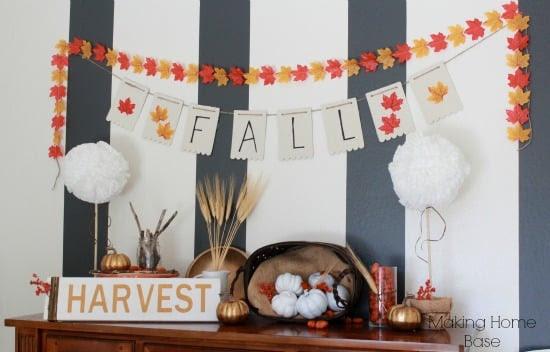 Chalkboard Pumpkin Planters   Making Home Base
