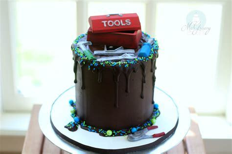 Easy Tool Box Cake   McGreevy Cakes