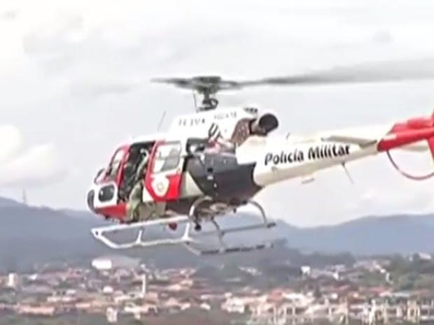 Operação da Polícia Rodoviária Federal em parceria com outras corporações em Arujá, Santa Isabel e Guarulhos (Foto: Reprodução/TV Diário)