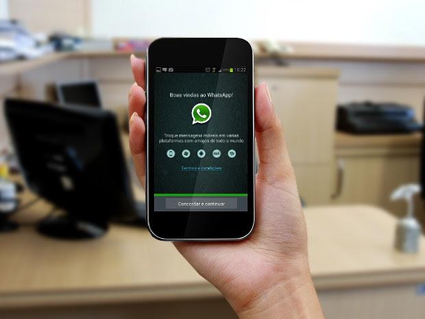 Whatsapp - ilustrativa ok (Foto: Adelmo Paixão Neto/G1)