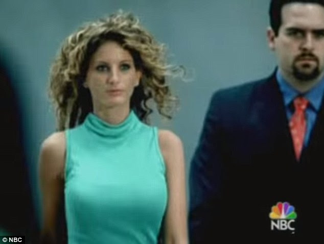 In and out: Zervos appeared on the fifth season of The Apprentice, where she was the first cast member to be 'fired'