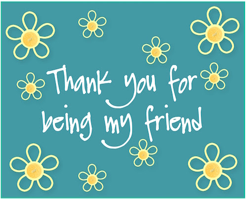 Group Of Thank You Friends Free