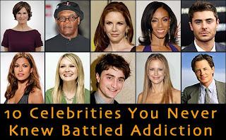 Celebrity drug addiction