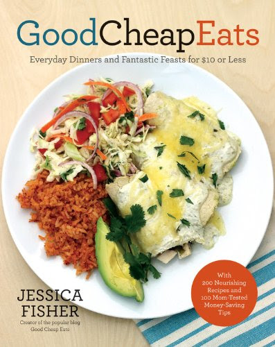 GoodCheapEats Cookbook Giveaway via thefrugalfoodiemama.com - 200 recipes that feed a family of 4 for $10 or less!