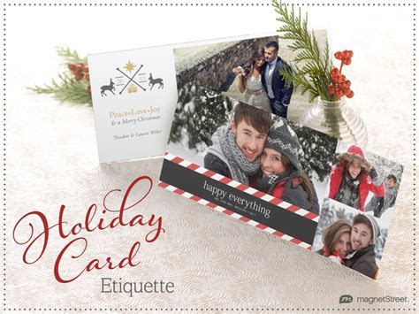 Holiday Card Etiquette: Say This (But Maybe Not That
