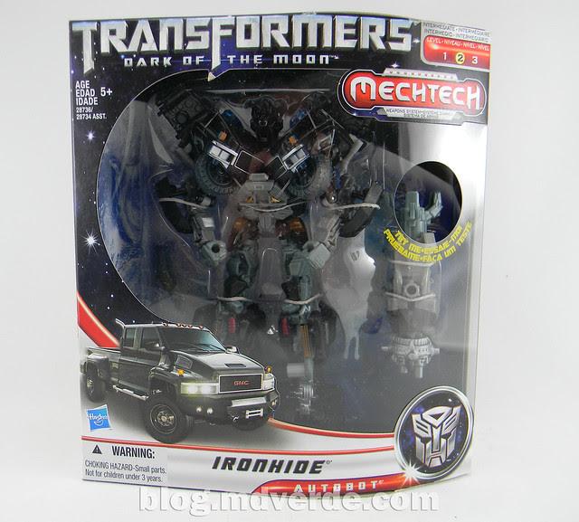 Transformers Ironhide DotM Voyager - caja