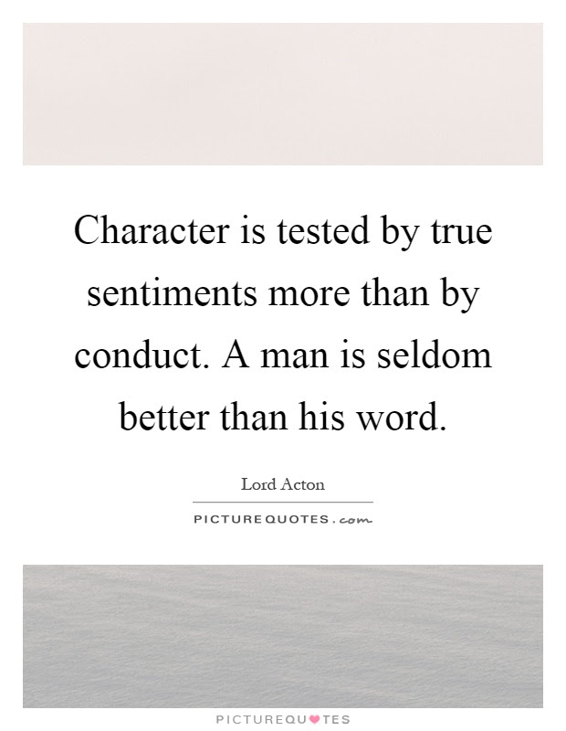 True Character Quotes Sayings True Character Picture Quotes Page 2