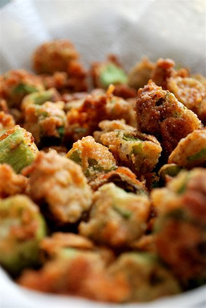 Fried okra. #Southern #Food at it's best!