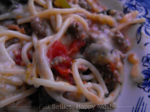 Trisha Yearwood's Baked Spaghetti
