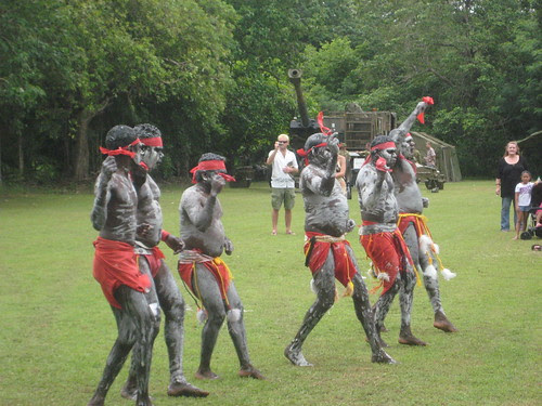 'One Mob,Different Country' - Indigenous dancers from detention centres.