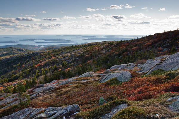 color, on Cadillac Mountain
