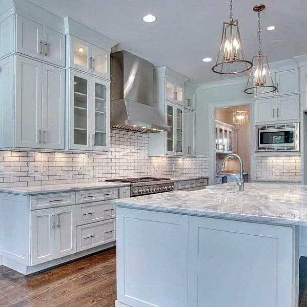 Top 60 Best White Kitchen Ideas - Clean Interior Designs
