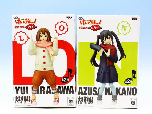 Parte de um set de prize figuras de K-ON!, alusivo ao filme.
