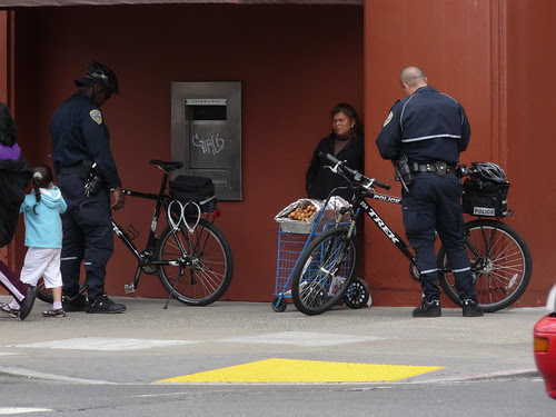 They May Ride Bikes, But They Are Still Cops