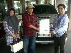 Penyerahan Kendaraan Fortuner TRD Pak Rahman.