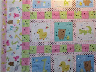 Bunnies and Duckies and Bears, Oh My! quilt