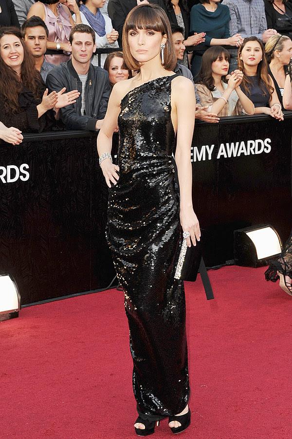 vestido de Rose Byrne Oscar 2012