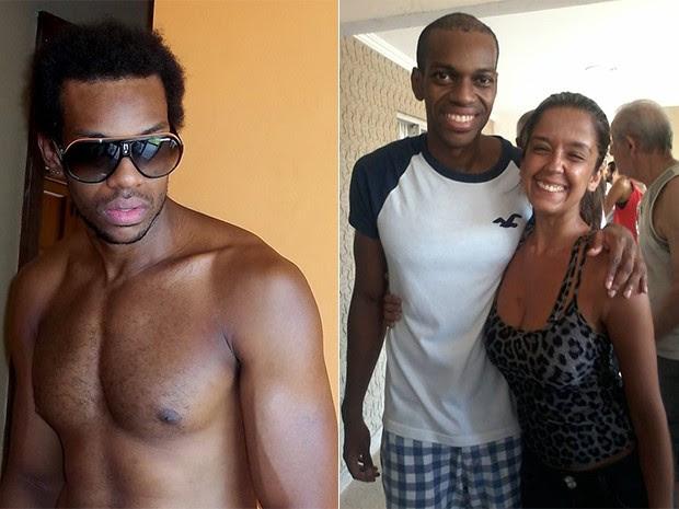Antes e Depois - Vinicius Romão (Foto: Paulo Brito/ Divulgação)
