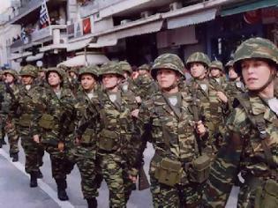 Φωτογραφία για Υποχρεωτική στράτευση γυναικών στα 18 ζήτησε η Χρυσή Αυγή..Η Χ.Α θεωρεί διάκριση κατά των γυναικών την μη στράτευσή τους