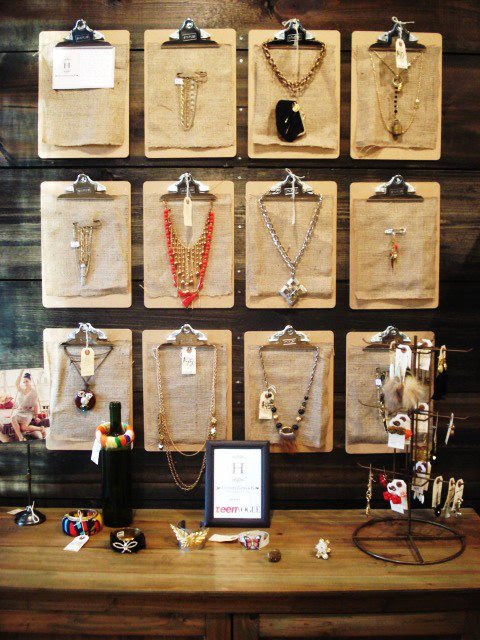 Creative Ways to Organize Jewelry