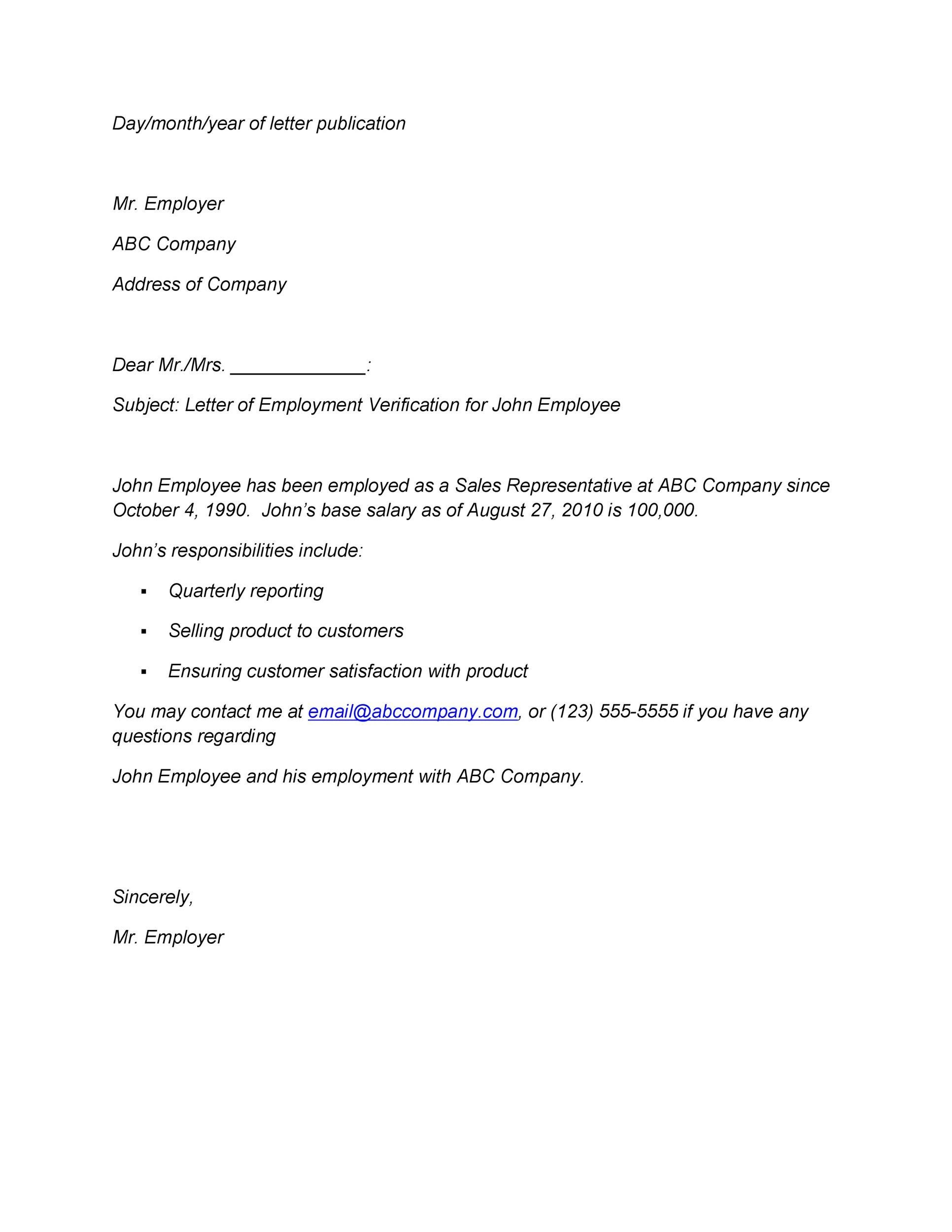 Letter For Proof Of Employment from lh4.googleusercontent.com
