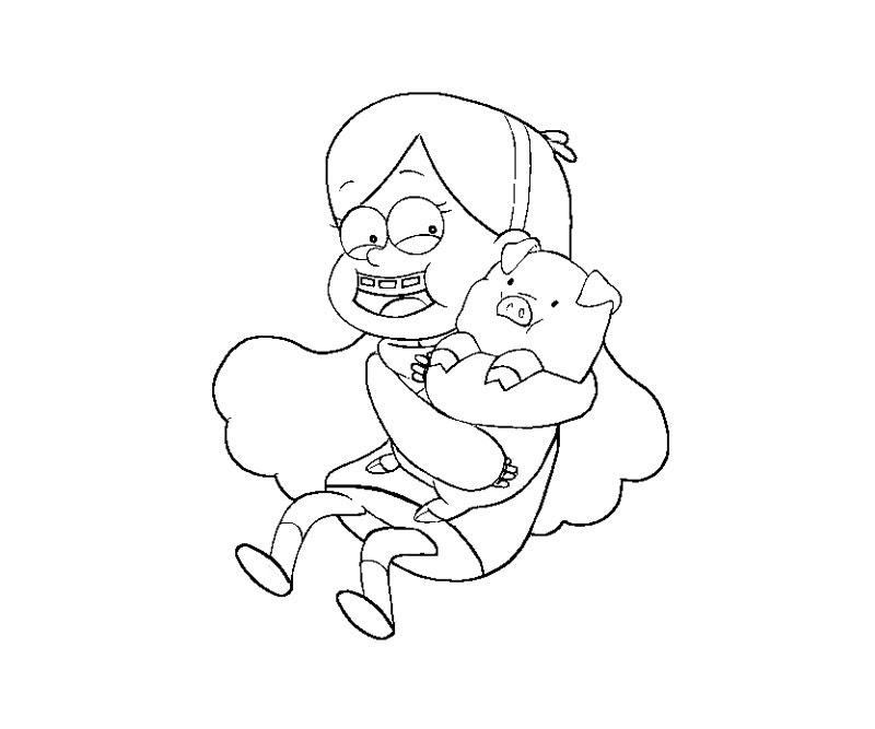 Gravity Falls Para Colorear Pintar E Imprimir