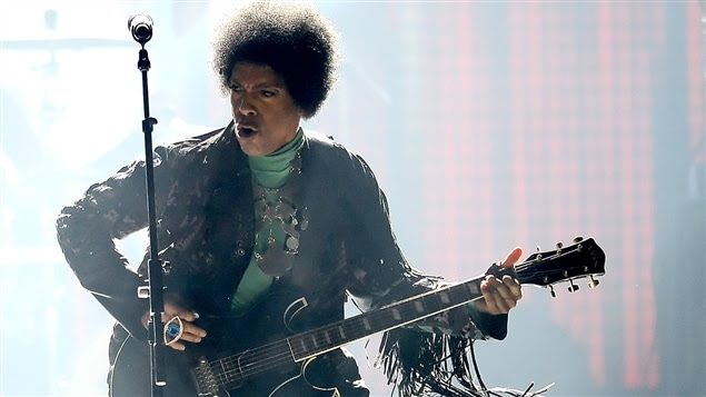 Prince en 2013, lors des Billboard Music Awards