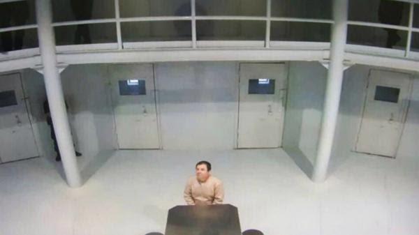 """""""El Chapo"""" Guzmán está detenido en la prisión de Ciudad Juárez (@osoriochong)"""