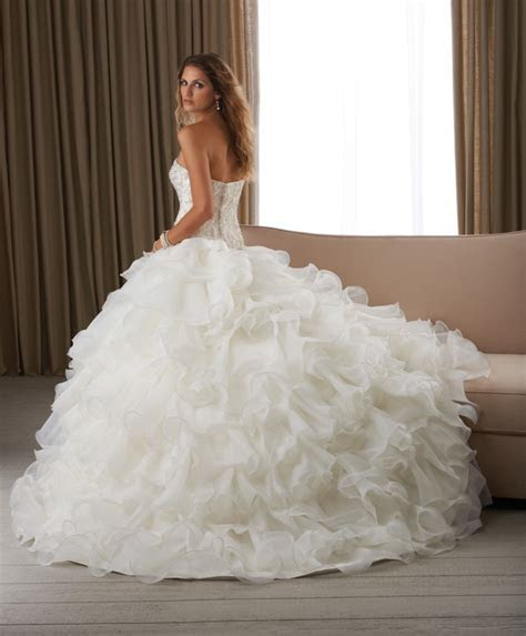 Poofy Wedding Dresses Design   Wedding and Bridal