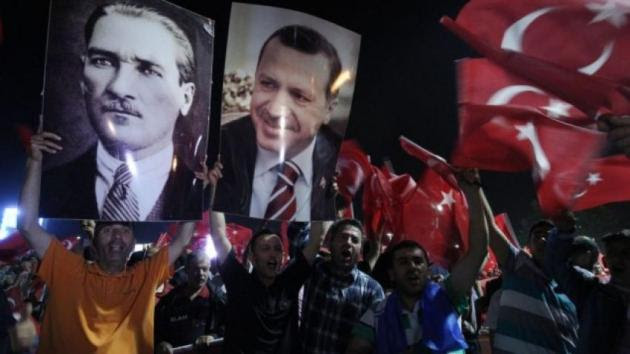 WSJ: Παρανοϊκή η στάση του Ερντογάν