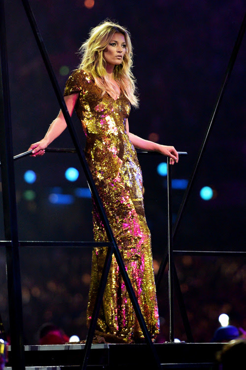 Kate Moss at the 2012 Olympics Closing Ceremony
