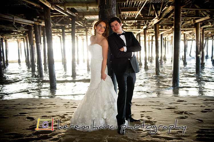 Underneath Santa Monica Pier