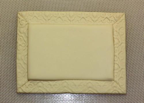 fondant frame w/o gold