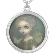 Butterflies in Gloom NECKLACE rococo gothic fairy necklace
