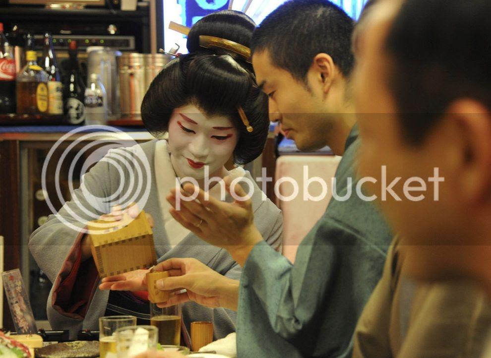 El unico hombre Geisha de Japón