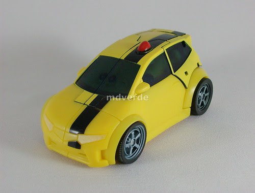 Transformers Bumblebee Animated Deluxe - modo alterno