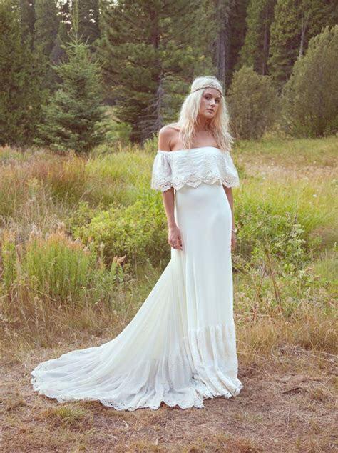1000  ideas about Hippie Wedding Dresses on Pinterest