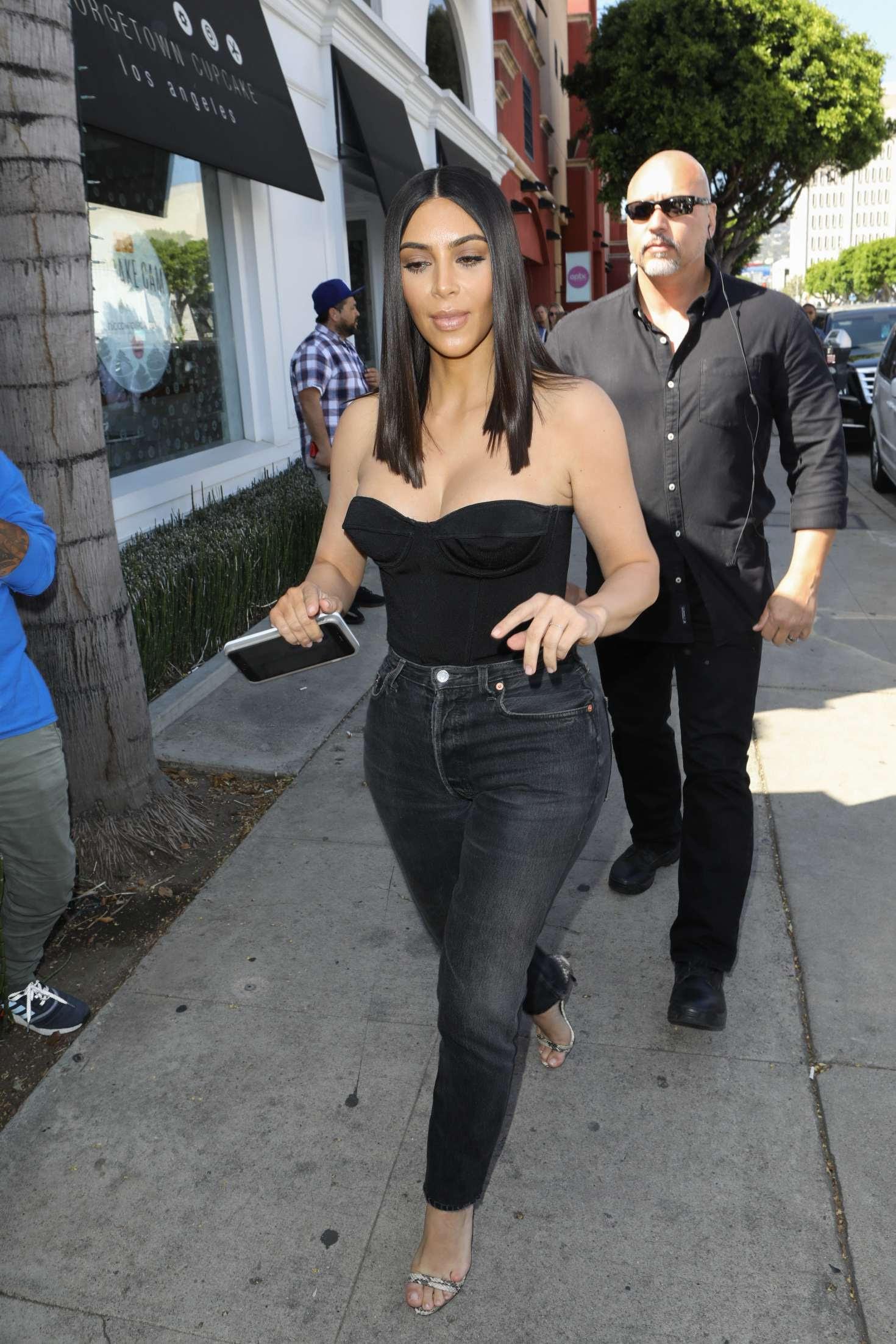 Kim Kardashian at Cuvee in Los Angeles