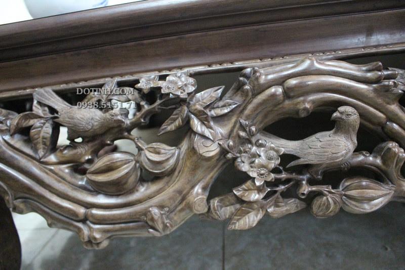 Sập cây khế - Mẫu sập gỗ chân quỳ đẹp trong tháng 3