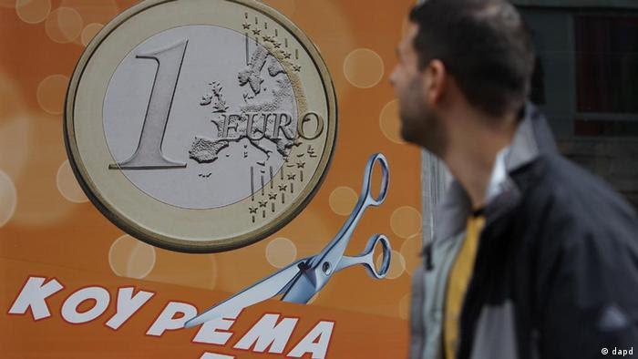 Symbolbild Schuldenschnitt Griechenland ARCHIV (dapd)