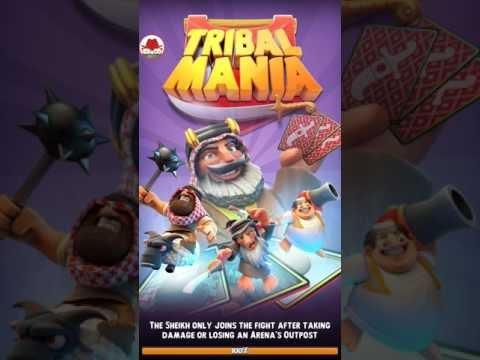 Tribal Mania Clash Royale Oynanış ve Tanıtım