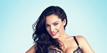 Kelly Brook's Valentine's Day lingerie for New Look