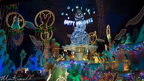 Disneyland Resort, Disneyland, Fantasyland, Christmas Time, Christmas, it's a small world, Small World, Holiday, 2014
