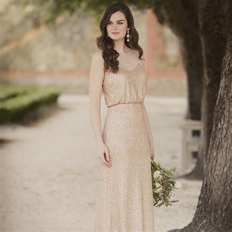 Runway to Wedding Day: Sequin Bridesmaid Dresses   Pretty
