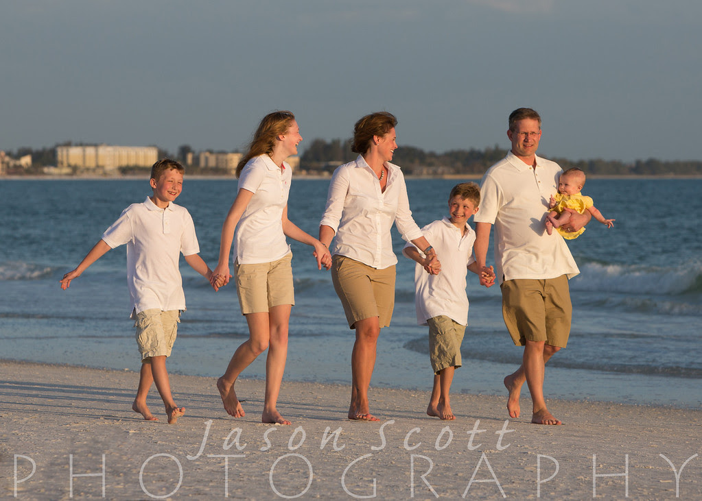 Handley Family on Siesta Key, April 2013