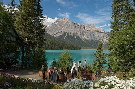 Weddings at Emerald Lake Lodge   Canadian Rocky Mountain