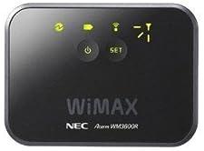 日本電気 モバイルWiMAXルータ AtermWM3600R ブラック PA-WM3600R(AT)B