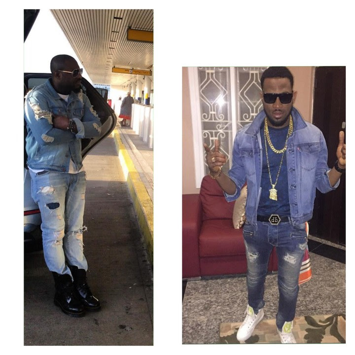 Jim Iyke, Dbanj Who Rocked The Denim On Denim Better?