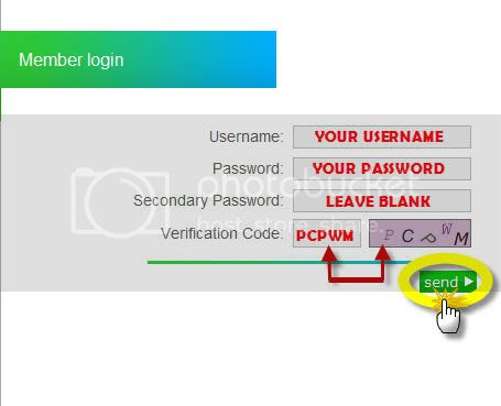 Step 4, Enter login detail